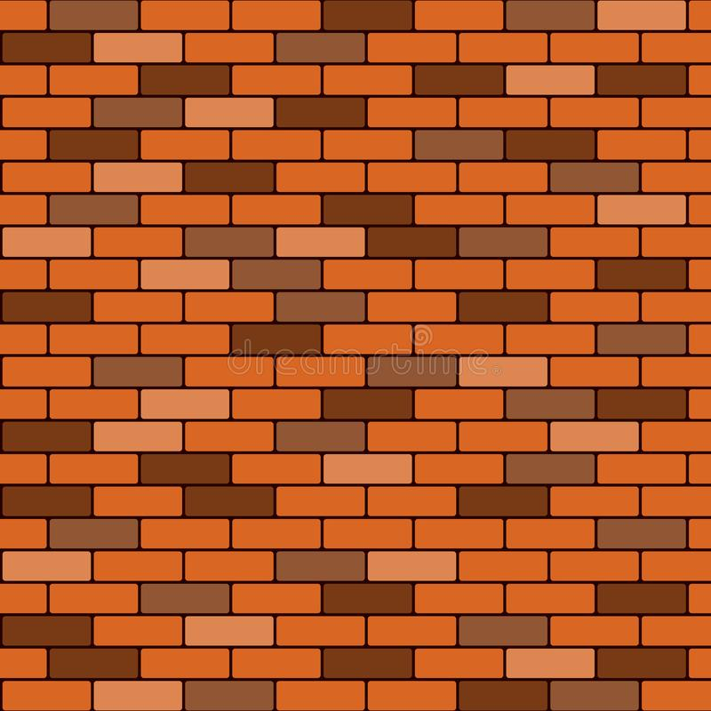 Abstract of brown brick wall background royalty free stock photo