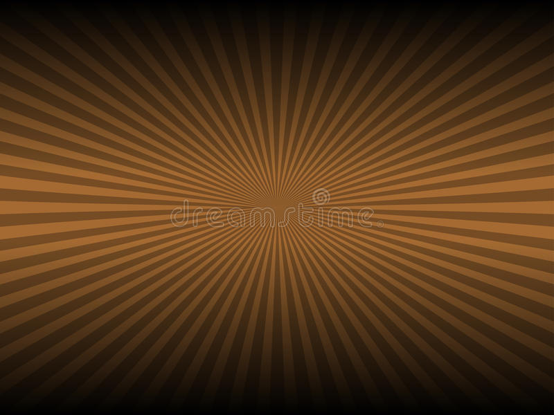 Abstract brown color and line glowing background stock illustration