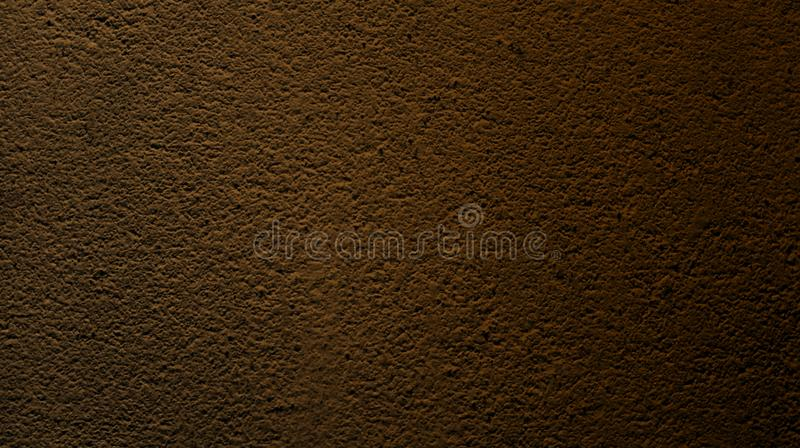 Abstract brown walnut color with wall rough dry texture background. royalty free stock images