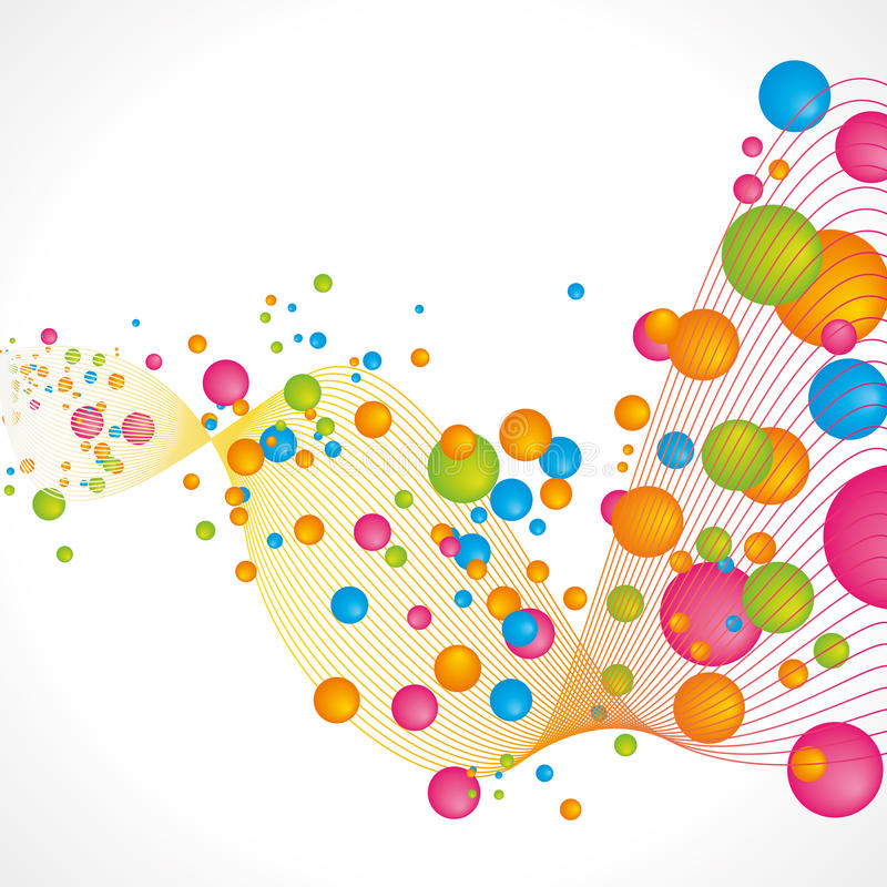 Free Abstract Bubbles Background Royalty Free Stock Photography - 58487187