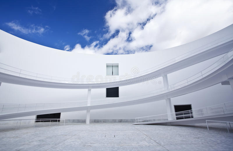 Abstract building royalty free stock photo