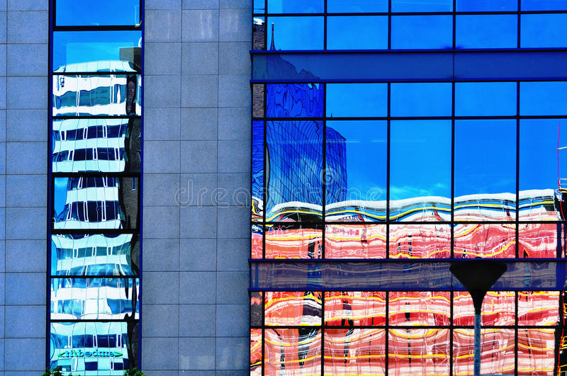 Abstract building background stock photography