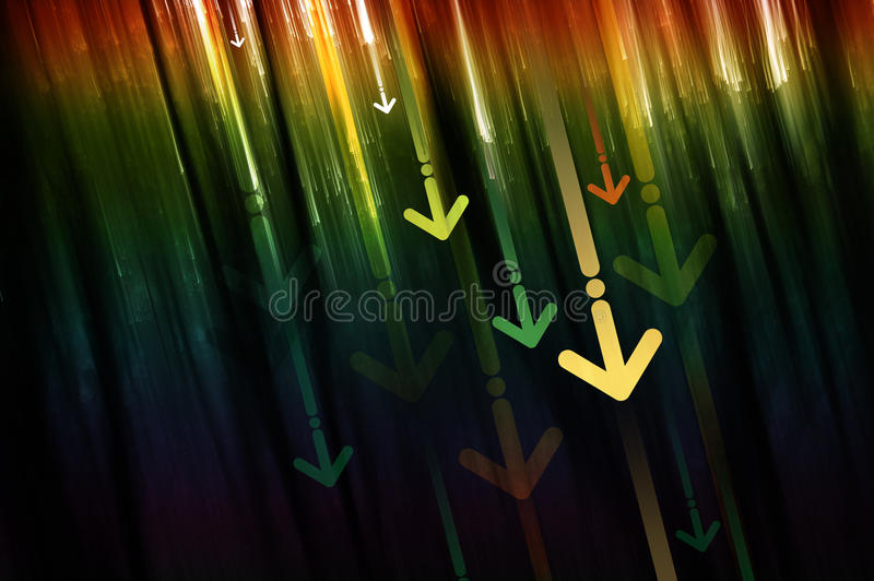 Abstract business background stock illustration