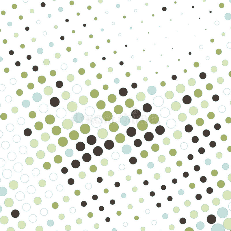 Abstract business background with colorful dots vector illustration