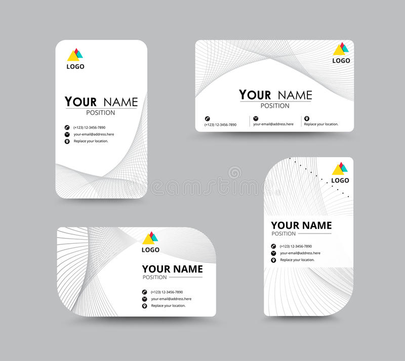 Abstract business card template with sample name position city download abstract business card template with sample name position city stock vector illustration of colourmoves