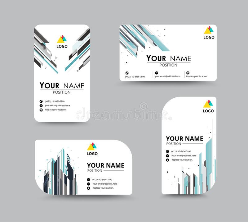 Abstract business card template with sample name position city download abstract business card template with sample name position city stock vector illustration of colourmoves Gallery