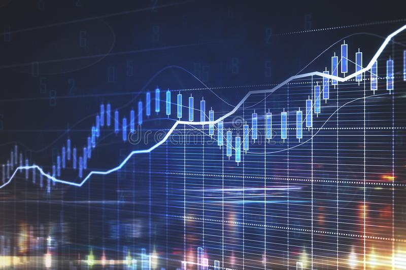 Forex concept royalty free stock photography
