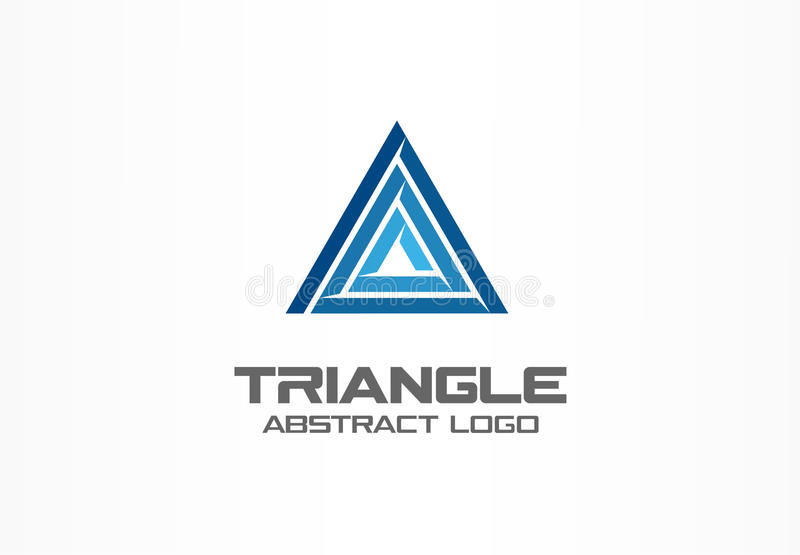 Abstract business company logo. Corporate identity design element. Development, finance, bank and market logotype idea. Abstract business company logo vector illustration