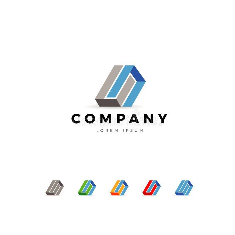Abstract Business Company Logo Template illustration libre de droits