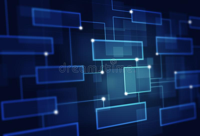Abstract Business Flow Cart stock photo