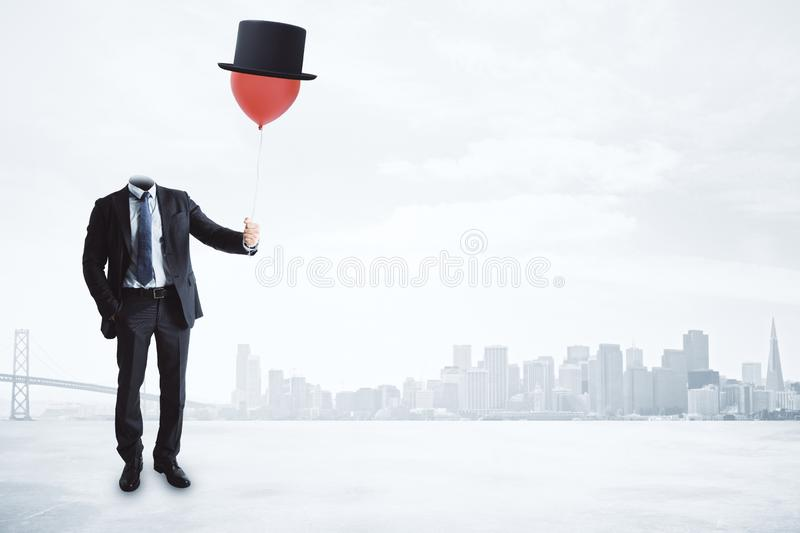 Surreal and freedom concept royalty free stock images