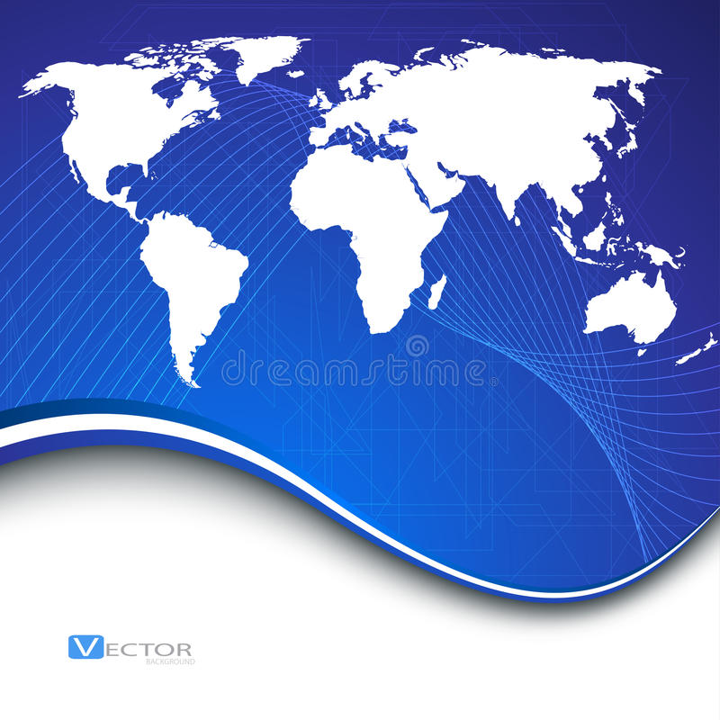 Abstract bussines background. Vector Illustration stock illustration