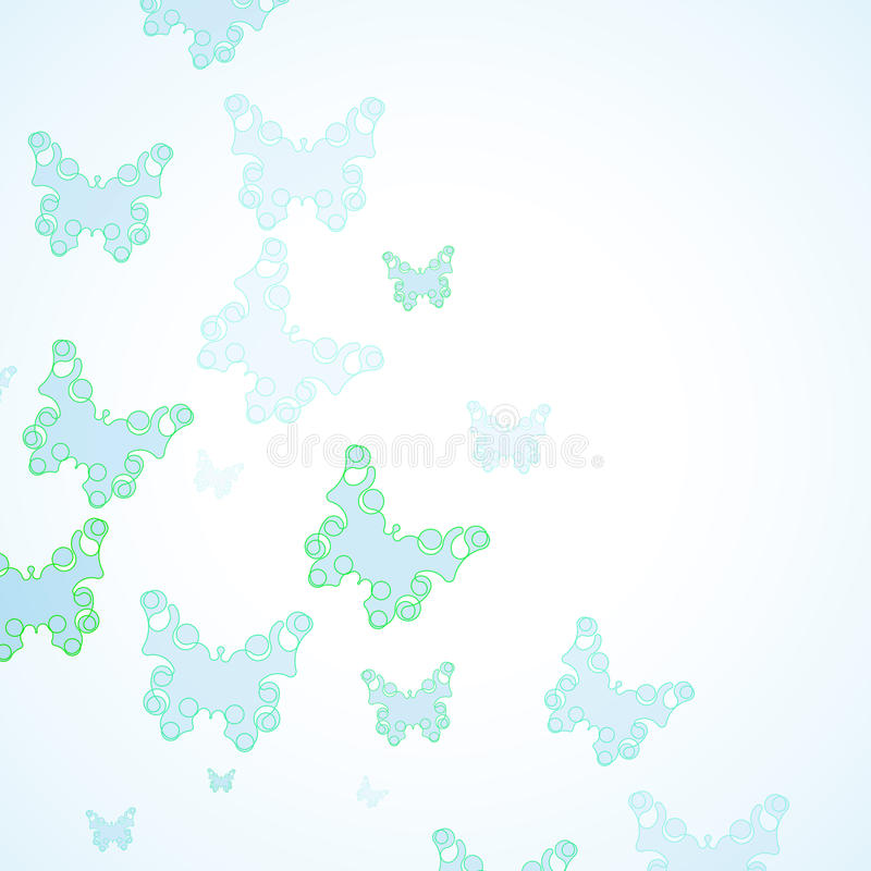 Abstract Butterfly background. Futuristic art illustration eps10 vector illustration