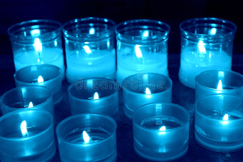 Abstract candles royalty free stock photo