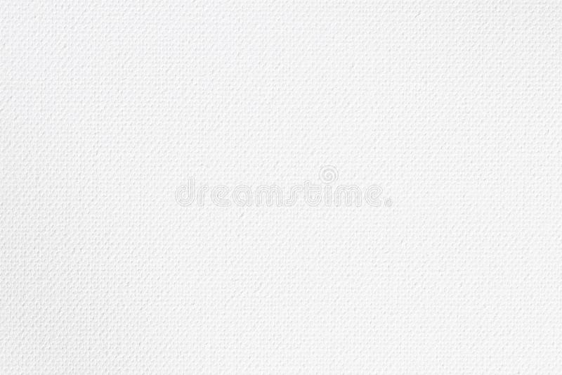 Abstract canvas surface for design, White canvas texture for background.  royalty free stock photos