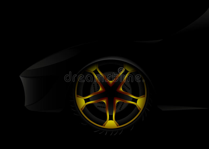 Abstract car vector illustration