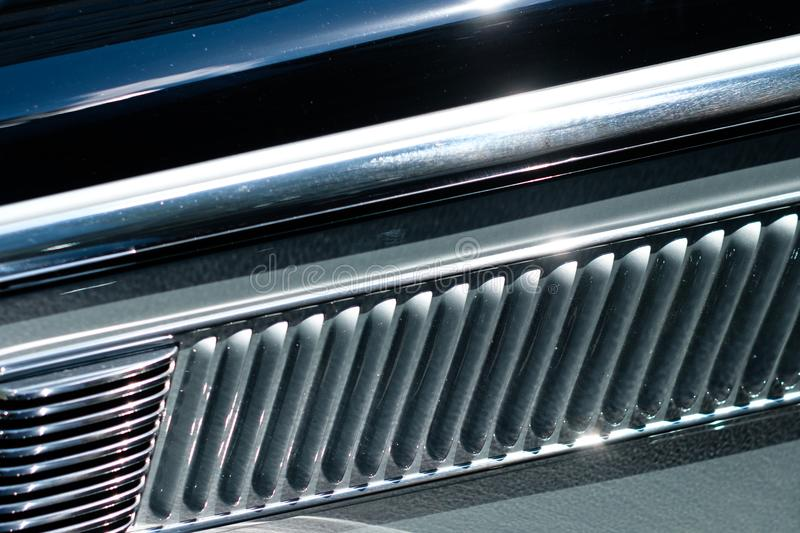Abstract car design detail - concept background steel closeup -. Abstract car design detail - concept background steel closeup abstract car design detail royalty free stock images