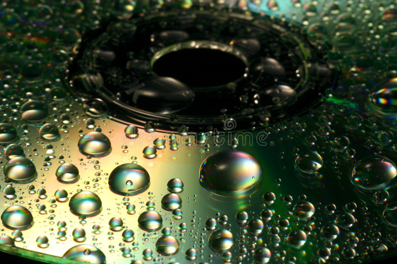 Download Abstract CD stock image. Image of droplets, save, storage - 122517