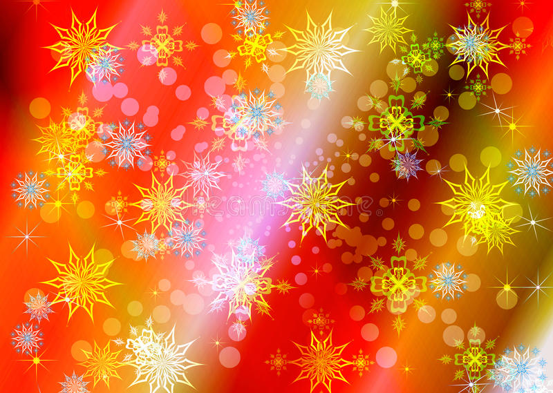 Download Abstract Celebratory Winter Illustration Stock Photo - Image: 21571940