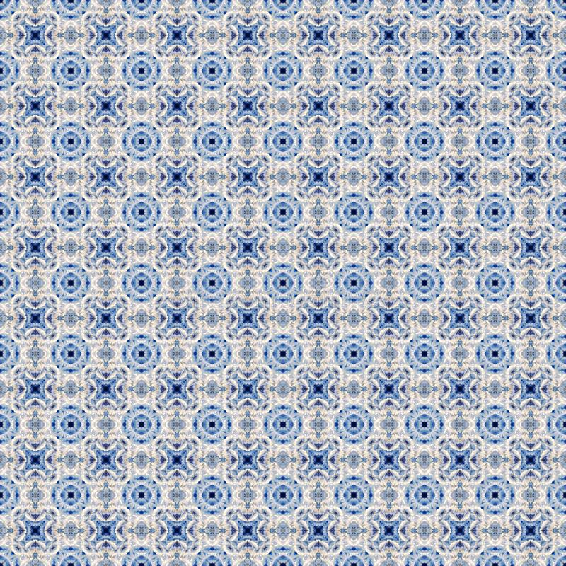 Abstract celestial blue seamless pattern. Skiey background. royalty free stock photo