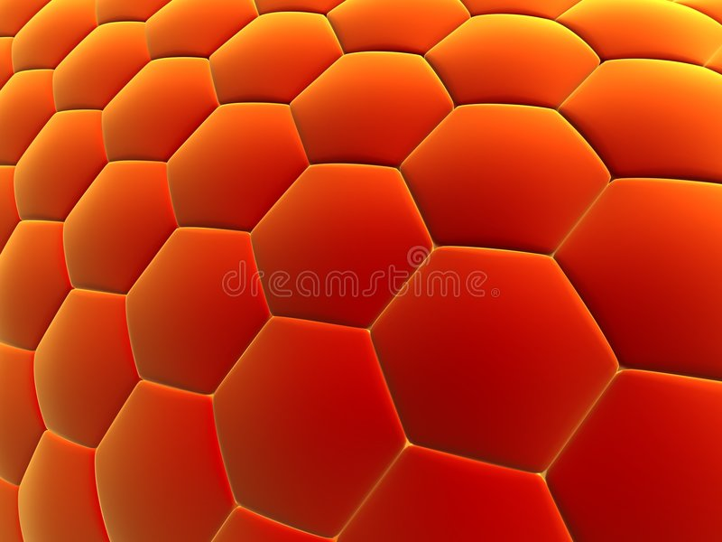 Abstract cells stock illustration