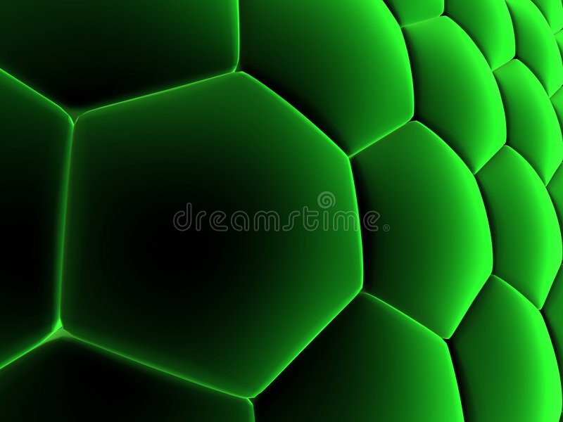 Abstract cells royalty free illustration