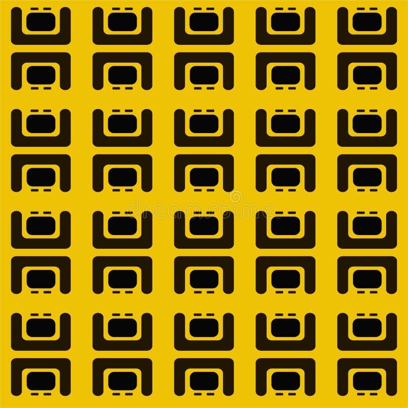 Abstract ceometric patroon royalty-vrije illustratie