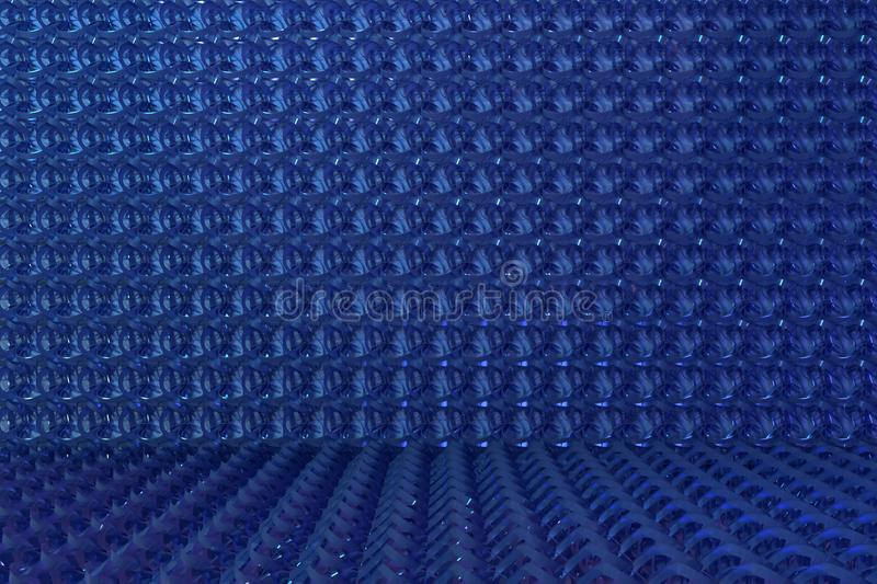 Abstract CGI composition, string mat geometric backdrop. Wallpaper for graphic design. 3D render. Background abstract, string mat geometric backdrop CGI royalty free illustration