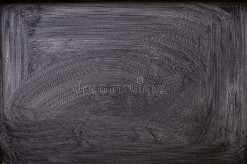 Abstract Chalk rubbed out on blackboard for background. texture for add text or graphic design. stock image