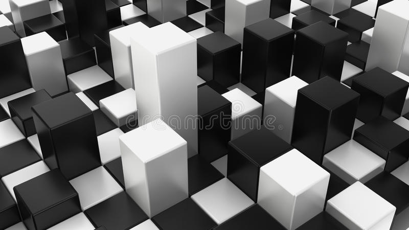 Abstract checker background royalty free stock images