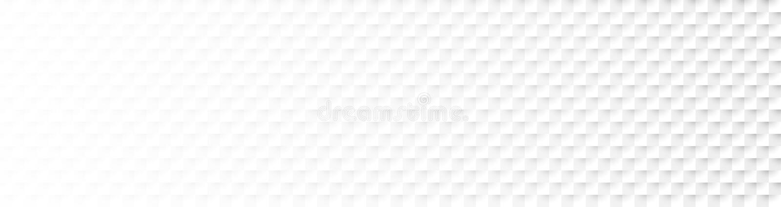 Abstract Checkered Paper Flow Headline. Monochrome abstract checkered paper background royalty free illustration