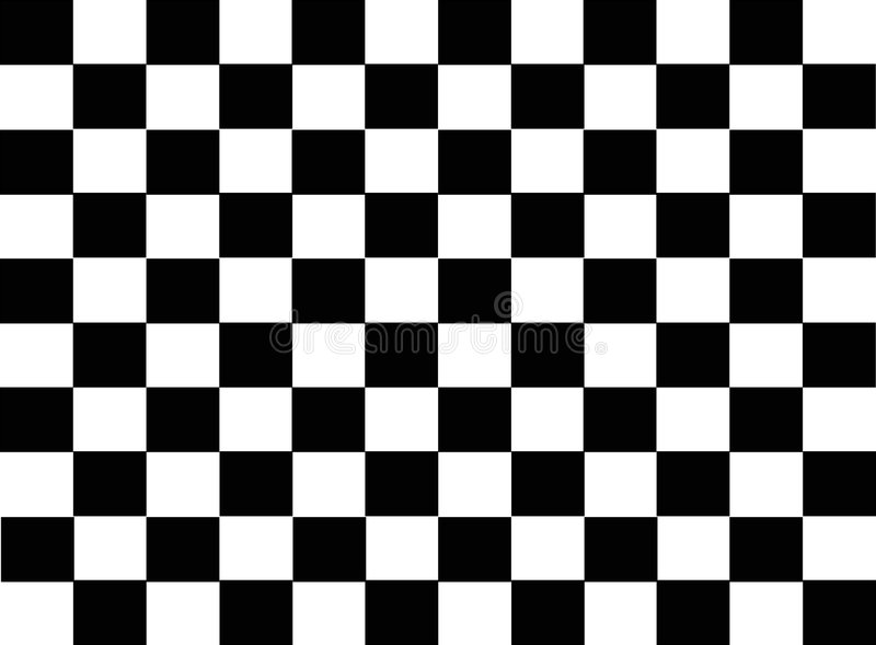 Abstract checkered tile stock illustration