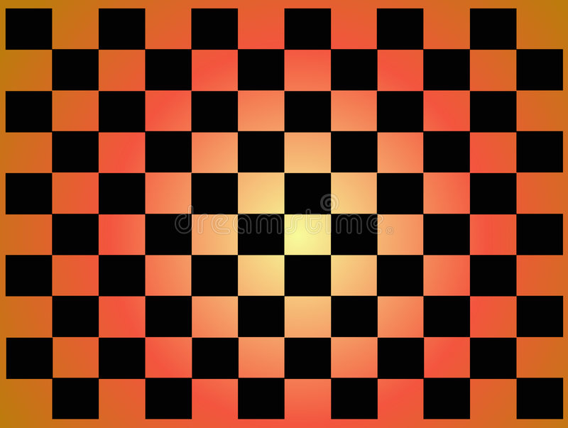 Abstract checkered tile royalty free illustration