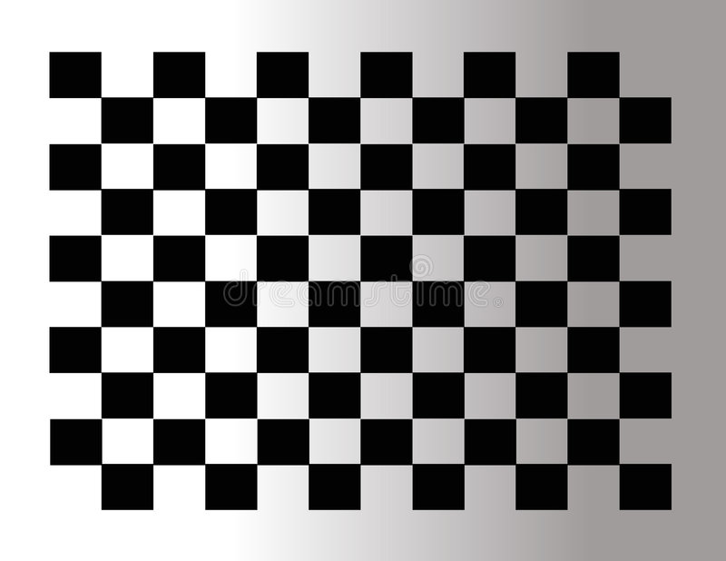 Abstract checkered tile vector illustration