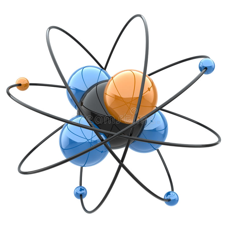 Download Abstract Chemical Concept. Atom Or Molecule Sign. Stock Illustration - Illustration of abstract, illustration: 39500164