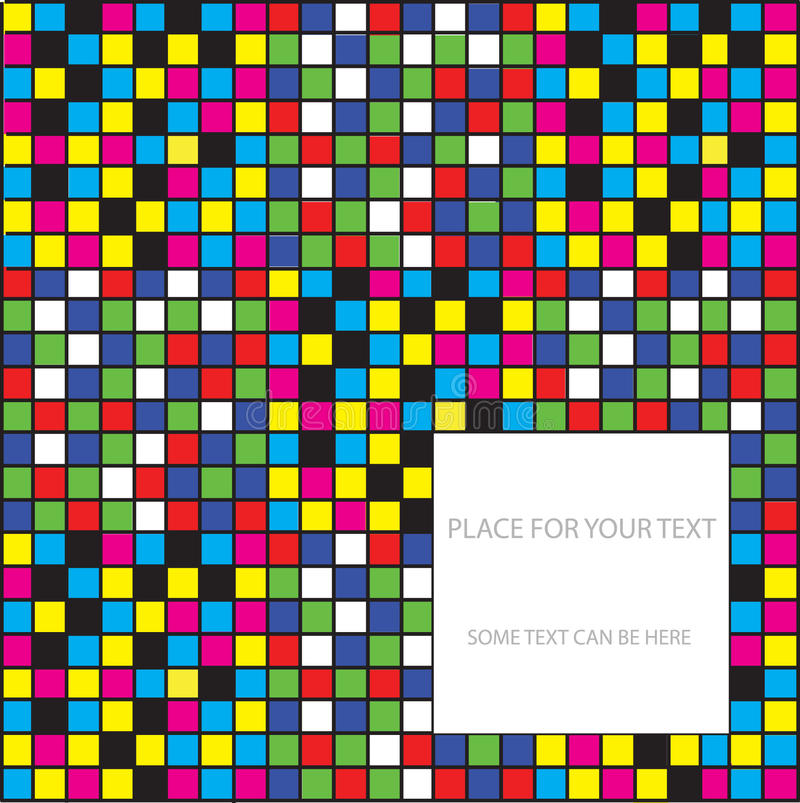 Download Abstract Chequered Background Stock Illustration - Image: 19700006
