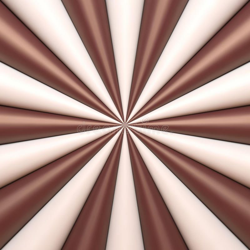 Abstract chocolate and cream background royalty free illustration