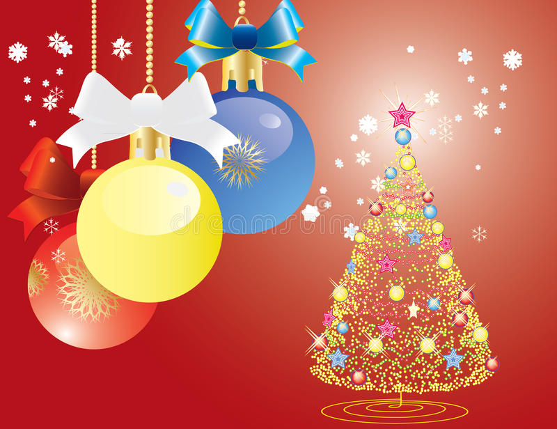 Download Abstract Christmas stock illustration. Image of painting - 14853248