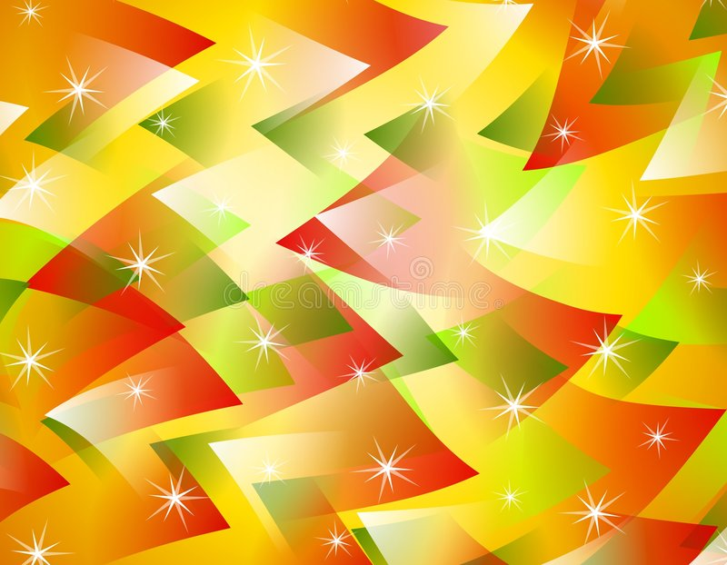 Abstract Christmas Background 3 Stock Image