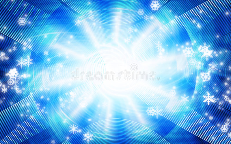 Abstract Christmas background stock illustration
