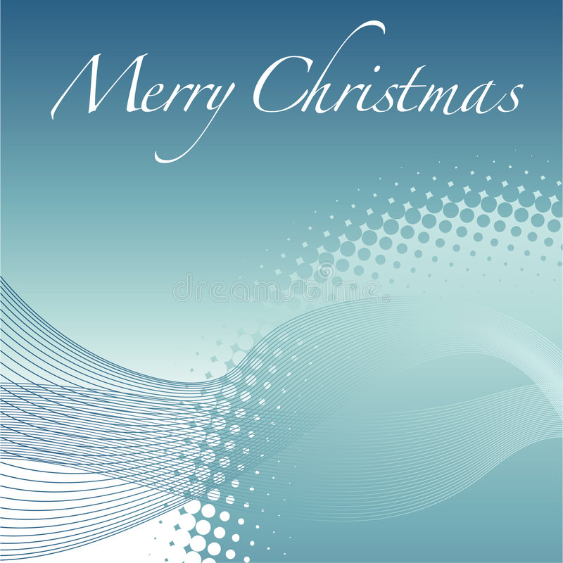 Abstract Christmas background. Abstract illustration of Christmas background with the words Merry Christmas in white lettering, available in vector format stock illustration