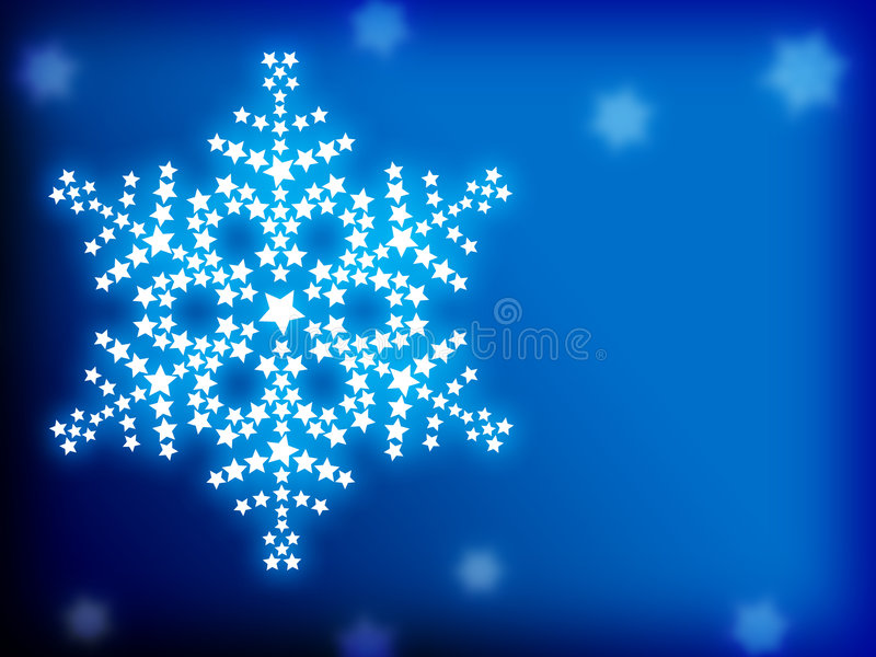 Abstract christmas background. Illustration of abstract christmas background with snowflakes vector illustration