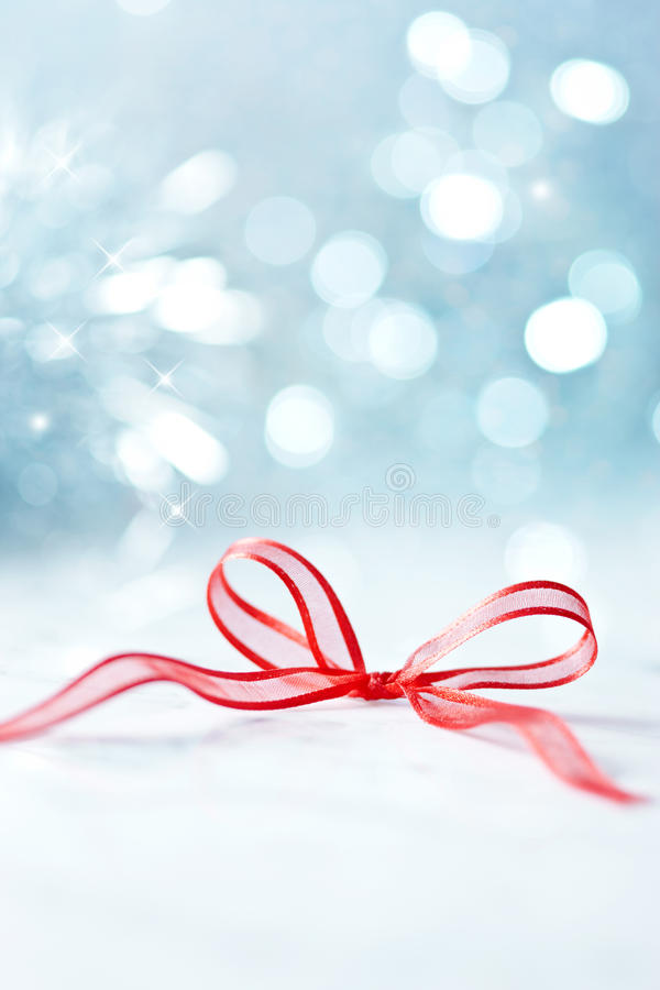 Love Abstract Christmas Background Bow stock photography