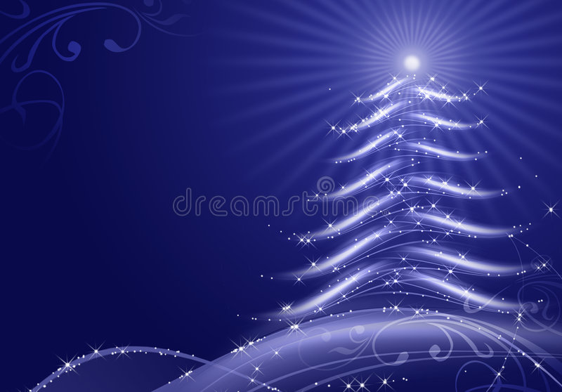 Download Abstract Christmas Background With Snow Flakes Stock Illustration - Image: 6831691