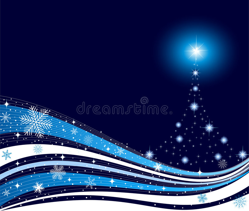 Download Abstract Christmas Background Vector Stock Vector - Illustration of decorated, snow: 7489560