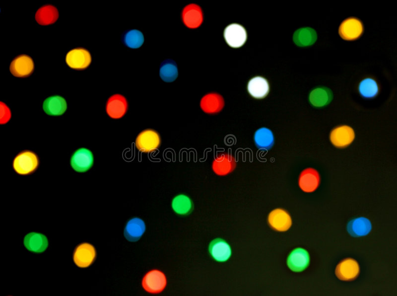 Abstract Christmas Bokeh Background