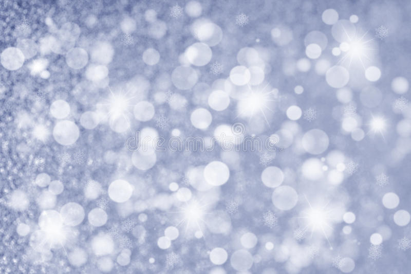 Abstract Christmas Glittering background in silver. Christmas Glittering background in silver blue, Holiday abstract texture