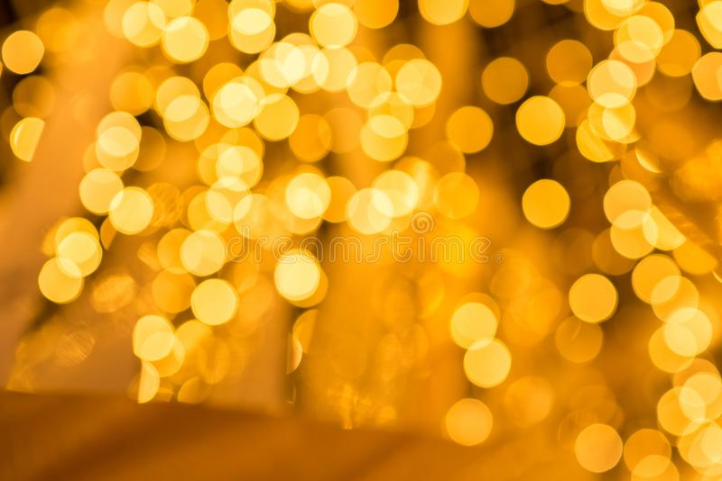 Abstract Christmas and Happy New years bokeh background. For design pattern royalty free stock image