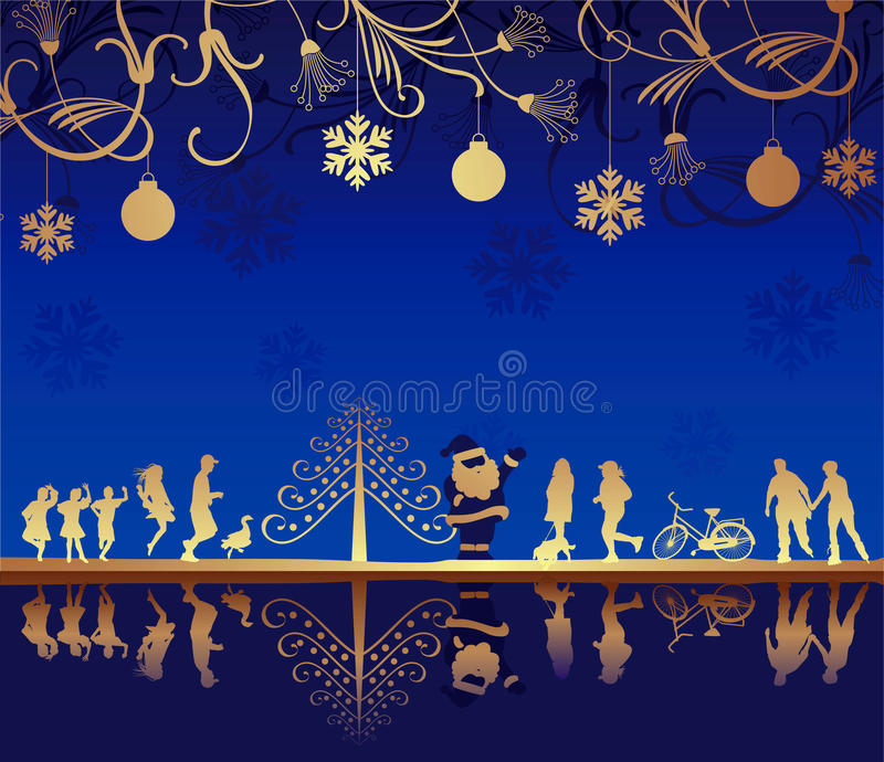 Download Abstract Christmas Holiday stock vector. Illustration of holiday - 17037373