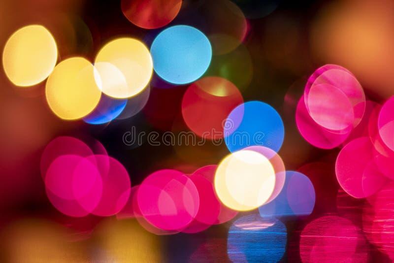 Abstract christmas light stock image